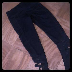 VSX cutout workout pants